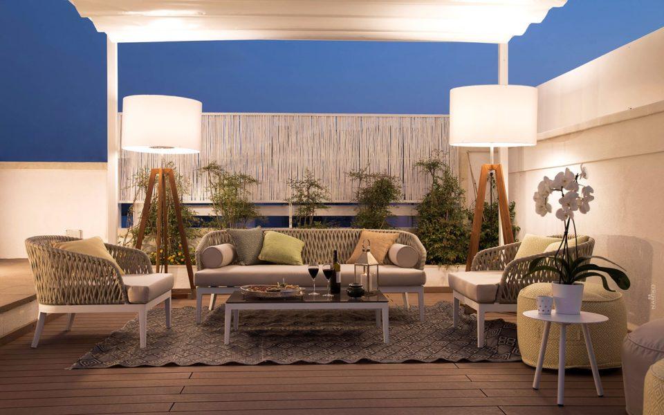la dimora delle fate roof garden divanetti